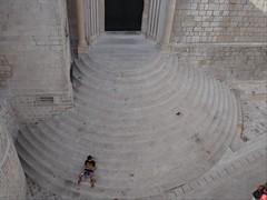 Dubrovnik - sittin' on the steps (h_savill) Tags: old city holiday building church stone europe mediterranean sitting steps croatia august medieval historic unesco dubrovnik adriatic ragusa 2007 worldheritage walled semicircle dalmatia worldheritagelist exploreworldwide