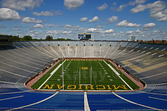 Great photo of The Big House in Ann Arbor
