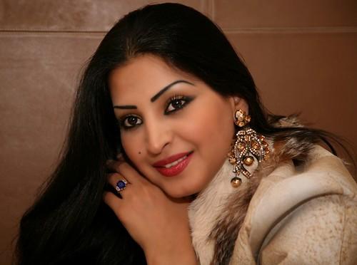 Saudi Arabian actress Reem Abdullah photo