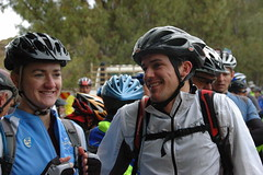 Richard & Ruth at the start of the race-1