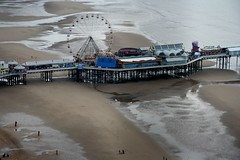 South Pier (flippers) Tags: tower beach wheel pier ferris aerial blackpool