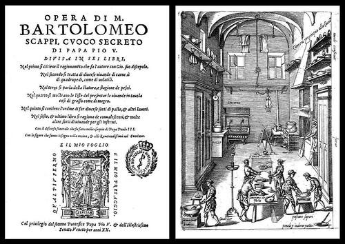 Opera di M. Bartolomeo Scappi (1570) titlepage