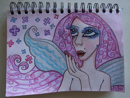 Sketchbook - Purple Goddess