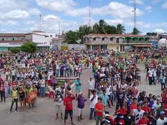 Demonstração em Lavras da Mangabeira-CE