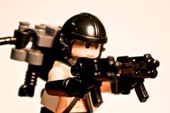 Aerial Warrior w/ Apoc. SMG (Spartan-134) Tags: aerial warrior custom smg apoc brickarms brickforge