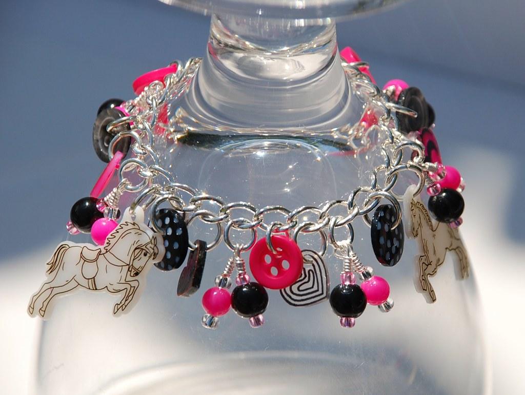 Horses 'n' Hearts charm bracelet