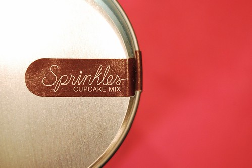 Sprinkles Cupcake Can