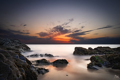 Juste  l'heure {EXPLORED & FP} ( David.Keochkerian ) Tags: longexposure sun david france color colour detail water sunshine soleil photo nikon eau shoot shot image bretagne explore milky morbihan silky hoya nd400 belleileenmer poselongue keoch keochkerian