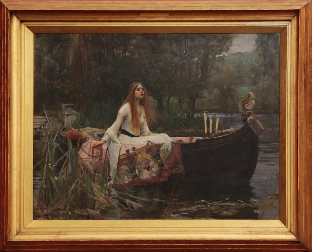 The Lady of Shalott, John William Waterhouse,  1888