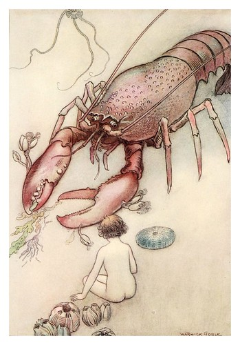007-The water-babies a fairy tale for land-baby 1909-ilustrado por  Warwick Goble