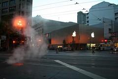 Apple Store San Francisco - by mathieuthouvenin