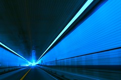 Tunnel (MeraM) Tags: road light motion blur lines architecture 1025fav speed dark highway tunnel route freeway passage canoneos chesapeakebaybridgetunnel americaamerica 1on1colorfulphotooftheday 1on1colorfulphotoofthedayjune2007