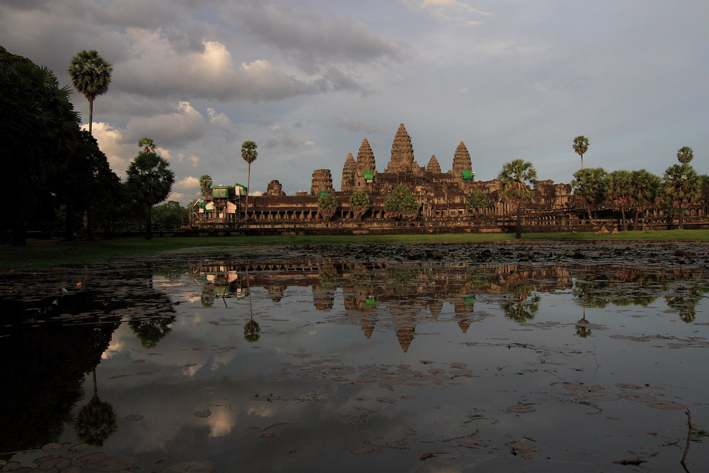 Sunset of Angkor Wat~~