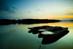 Beautiful Danube 6 (Miodrag mitja Bogdanovic) Tags: sunset sky cloud green nature water grass river landscape boats boat serbia danube donau vojvodina srbija mitja dunav miodrag bogdanovic apatin worldthroughlens worldthroughlenscom beautifuldanube utata:project=colorexperiment