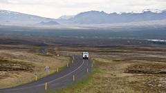 En Route from Reykjavík to Þingvellir