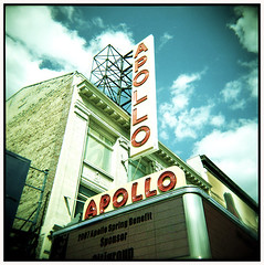 On Kojaks traces #8 (Thomas Solecki) Tags: nyc usa analog square holga theatre harlem jazz mf apollo portra