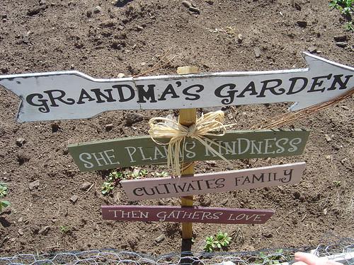 grandma's garden