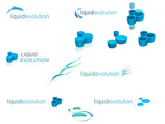 "Liquid Evolition Logo Ideas • <a style=""font-size:0.8em;"" href=""http://www.flickr.com/photos/10555280@N08/895423805/"" target=""_blank"">View on Flickr</a>"