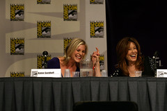 Katee Sackhoff and Mary McDonnell