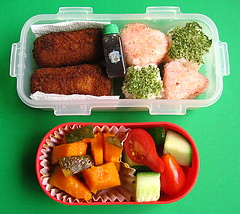 Kabocha lunch for preschooler