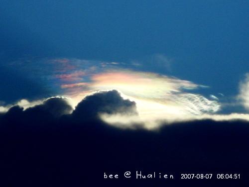 花蓮石梯坪海邊的日出---颱風來前的寧靜 (6)