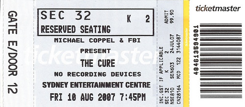 cure ticket