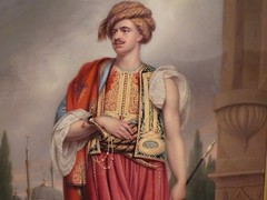 portrait of thomas hope in turkish costume - by noneck