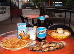 Cerveza Quilmes y tapas