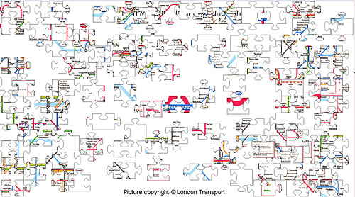 Tube Map Jigsaw