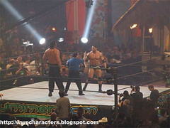Batista vs Great Khali - Summerslam 07' (drgthang) Tags: sports wrestling entertainment wrestlers wwe smackdown batista summerslam liveevents greatkhali
