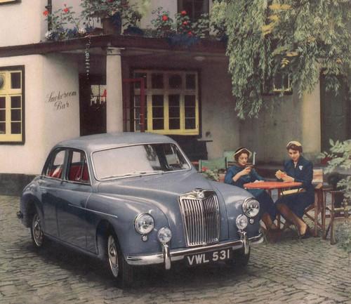 1955 MG Magnette