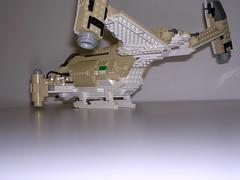 Rear pic showing underside camo (Magnus-L) Tags: ship drop gunship