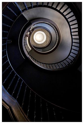 Nowa Huta_087-Staircase