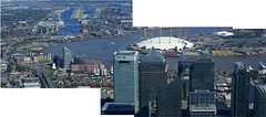London from the Air: New Providence Wharf, Blackwall, O2 Millenium Dome, HSBC World Headquarters, 5,1 & 25 Canada Square (Citigroup centre), 10 Upper Bank Street & Herons Quays - Canary Wharf (Craig Grobler) Tags: above park city bridge london eye heron westminster gardens thames golf fly football chopper chelsea riverside cathedral tate stadium pano air albert greenwich royal railway bigben millenium palace victoria richmond surrey cricket helicopter hyde foster waterloo wharf dome redhill axe docklands barrier canary stamford hampton m3 naval buckingham parliment quays fulham battersea gherkin pilot embankment wandsworth pimlico biplane albion wembley bankstreet hurlingham ckc1ne craiggrobler bridgeo2 craigcalder