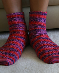 elegant ribbed socks2