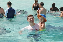 swimming with the stingrays (*Karo*) Tags: baxter bk caymans
