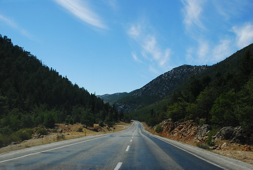 on the road from cappadocia to antalya
