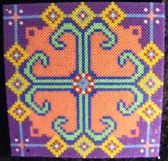 Colorfull decoration 2 (ki-vi) Tags: beads hama perler