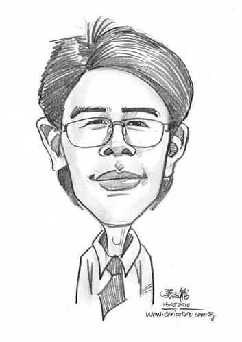 caricature for Hello Technology - 16