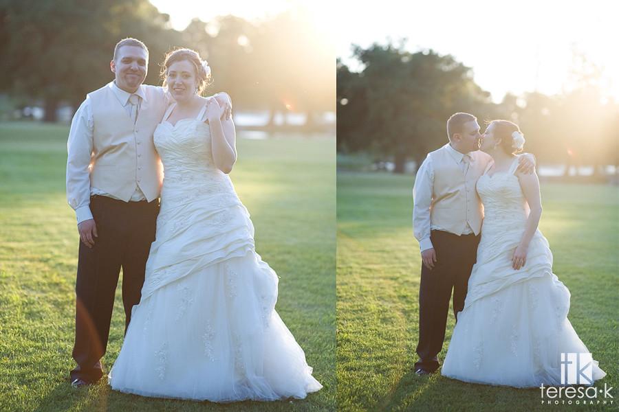 Backlit bridal portraits, Teresa K photography, vineyard wedding photograher