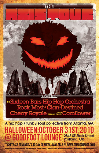 Hip-Hop Halloween Portland Party @ Goodfoot Lounge | Atlanta Funk