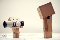 Big Lens (`antty) Tags: canon paper lens toys amazon singapore funny heart awesome mini mo cardboard anton lame ang 70200 f28 ef tang kio danbo danboard danboru antty