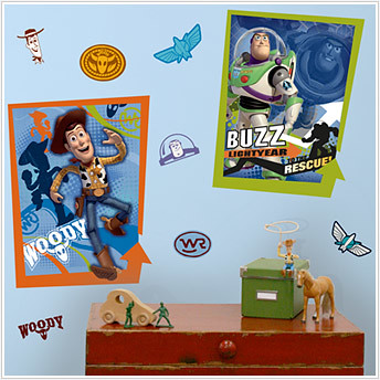 toy story kids decals