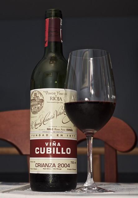 2004 R. Lopez de Heredia Vina Cubillo