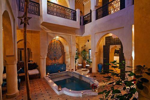 Patios de Riads à Marrakech