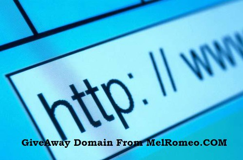 GiveAway Domain From MelRomeo.COM