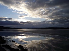 Sky at Sandside (Lune Rambler) Tags: blue sky sunshine clouds reflections grey bay dramatic estuary cumbria drama atmospheric lateafternoon glistening kentestuary oltusfotos lunerambler tripleniceshot southcumbriancoast 4timesasnice 6timesasnice 5timesasnice 7timesasnice