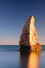 Incisor (Stu Meech) Tags: door winter light shadow bw sunlight beach rock 35mm landscape nikon head hard butter lee f18 polarizer grad bats durdle sidelight 3518 nd110 06nd minamilist d300s