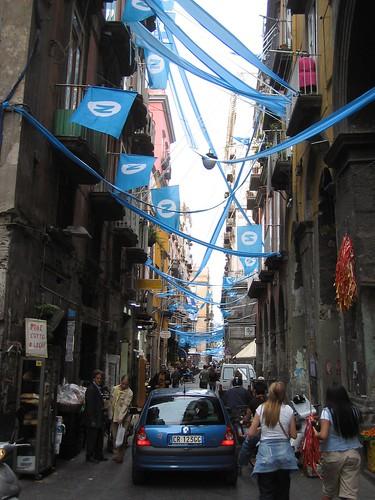 Napoli Partyvorbereitungen