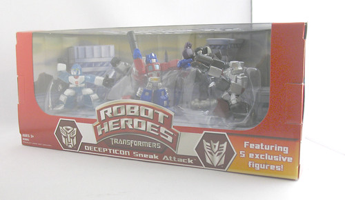 TF Robot Heroes Decepticon Sneak Attack (Wal-Mart Online Exclusive)